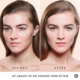 My Armani To Go Tone-Up Fond de teint Cushion