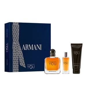 Coffret cadeau Emporio Armani Stronger With You Eau De Toilette 100 ml