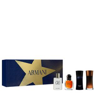 Coffret Giorgio Armani Iconic Miniatures Men